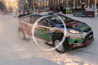 ©  North One Sport Limited 2011/Octane Photographic. 2011 WRC Sweden SS10 Fredericksberg, Saturday 12th February 2011. Digital ref : 0142CB1D7241