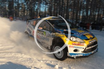 ©  North One Sport Limited 2011/Octane Photographic. 2011 WRC Sweden SS10 Fredericksberg, Saturday 12th February 2011. Digital ref : 0142CB1D7360