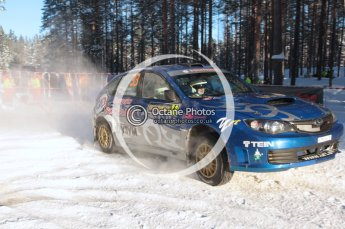 ©  North One Sport Limited 2011/Octane Photographic. 2011 WRC Sweden SS10 Fredericksberg, Saturday 12th February 2011. Digital ref : 0142CB1D7437