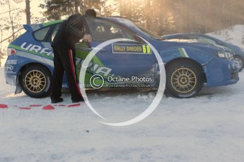 ©  North One Sport Limited 2011/Octane Photographic. 2011 WRC Sweden SS10 Fredericksberg, Saturday 12th February 2011. Digital ref : 0142CB1D7477
