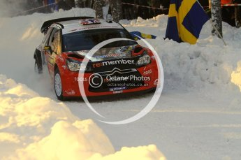 ©  North One Sport Limited 2011/Octane Photographic. 2011 WRC Sweden SS10 Fredericksberg, Saturday 12th February 2011. Digital ref : 0142LW7D8903