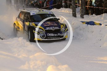 ©  North One Sport Limited 2011/Octane Photographic. 2011 WRC Sweden SS10 Fredericksberg, Saturday 12th February 2011. Digital ref : 0142LW7D8929