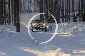 ©  North One Sport Limited 2011/Octane Photographic. 2011 WRC Sweden SS10 Fredericksberg, Saturday 12th February 2011. Digital ref : 0142LW7D9026