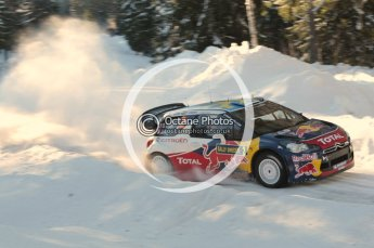 ©  North One Sport Limited 2011/Octane Photographic. 2011 WRC Sweden SS12 Lechfors II, Saturday 12th February 2011. Digital ref : 0143CB1D7571