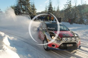 ©  North One Sport Limited 2011/Octane Photographic. 2011 WRC Sweden SS5 Vargassen lI, Friday 11th February 2011. Digital ref : 0141CB1D7073