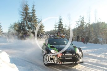 ©  North One Sport Limited 2011/Octane Photographic. 2011 WRC Sweden SS5 Vargassen lI, Friday 11th February 2011. Digital ref : 0141CB1D7123