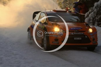 ©  North One Sport Limited 2011/Octane Photographic. 2011 WRC Sweden SS5 Vargassen lI, Friday 11th February 2011. Digital ref : 0141LW7D8784