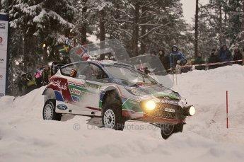 © North One Sport Ltd.2011/ Octane Photographic Ltd.2011. WRC Sweden SS2 Vargassen l (Colin's Crest), Friday 11th February 2011. Digital ref : 0140CB1D6841