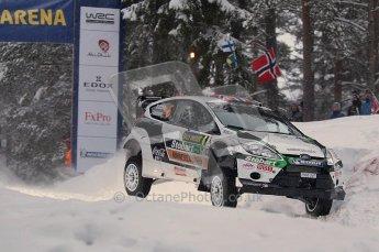 © North One Sport Ltd.2011/ Octane Photographic Ltd.2011. WRC Sweden SS2 Vargassen l (Colin's Crest), Friday 11th February 2011. Digital ref : 0140CB1D6858