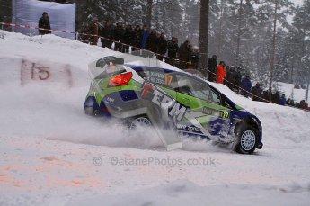 © North One Sport Ltd.2011/ Octane Photographic Ltd.2011. WRC Sweden SS2 Vargassen l (Colin's Crest), Friday 11th February 2011. Digital ref : 0140LW7D8664