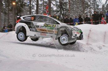 © North One Sport Ltd.2011/ Octane Photographic Ltd.2011. WRC Sweden SS2 Vargassen l (Colin's Crest), Friday 11th February 2011. Digital ref : 0140LW7D8637