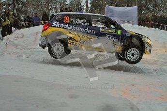 © North One Sport Ltd.2011/ Octane Photographic Ltd.2011. WRC Sweden SS2 Vargassen l (Colin's Crest), Friday 11th February 2011. Digital ref : 0140LW7D8655
