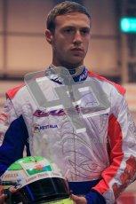 © Octane Photographic Ltd. 2012. Autosport International 2012 Celebrity Karting for the Race To Recovery charity. 12th January 2012. Jordan Chamberlain. Digital Ref : 0206cb1d1069