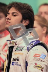 © Octane Photographic Ltd. 2012. Autosport International 2012 Celebrity Karting for the Race To Recovery charity. 12th January 2012. Felipe Nasr. Digital Ref : 0206cb1d1116