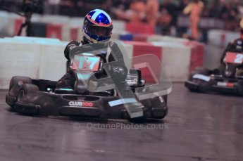 © Octane Photographic Ltd. 2012. Autosport International 2012 Celebrity Karting for the Race To Recovery charity. 12th January 2012. Digital Ref : 0206cb1d1171