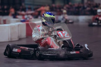© Octane Photographic Ltd. 2012. Autosport International 2012 Celebrity Karting for the Race To Recovery charity. 12th January 2012. Digital Ref : 0206cb1d1213