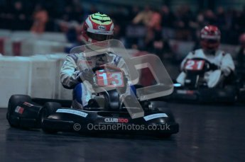 © Octane Photographic Ltd. 2012. Autosport International 2012 Celebrity Karting for the Race To Recovery charity. 12th January 2012. Digital Ref : 0206cb1d1217