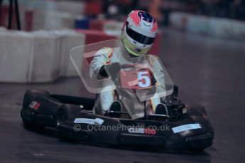© Octane Photographic Ltd. 2012. Autosport International 2012 Celebrity Karting for the Race To Recovery charity. 12th January 2012. Digital Ref : 0206cb1d1262