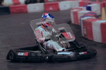 © Octane Photographic Ltd. 2012. Autosport International 2012 Celebrity Karting for the Race To Recovery charity. 12th January 2012. Digital Ref : 0206cb1d1409