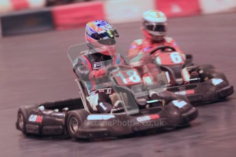 © Octane Photographic Ltd. 2012. Autosport International 2012 Celebrity Karting for the Race To Recovery charity. 12th January 2012. Digital Ref : 0206cb1d1460