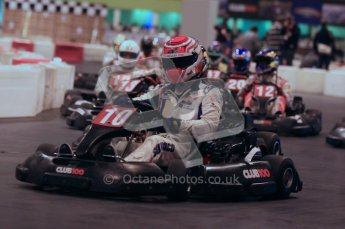 © Octane Photographic Ltd. 2012. Autosport International 2012 Celebrity Karting for the Race To Recovery charity. 12th January 2012. Digital Ref : 0206cb1d1613