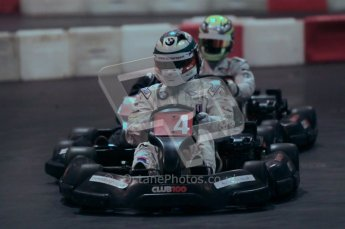 © Octane Photographic Ltd. 2012. Autosport International 2012 Celebrity Karting for the Race To Recovery charity. 12th January 2012. Digital Ref : 0206cb1d1727