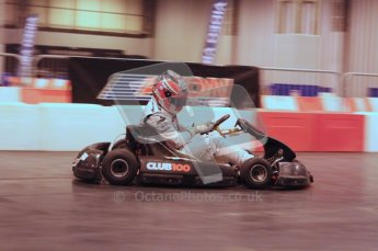 © Octane Photographic Ltd. 2012. Autosport International 2012 Celebrity Karting for the Race To Recovery charity. 12th January 2012. Digital Ref : 0206LW7D2021