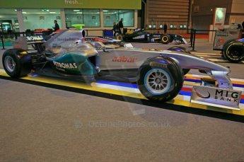 © Octane Photographic Ltd. 2012. Autosport International F1 Cars Old and New. Mercedes show car. Digital Ref : 0207cb7d1837
