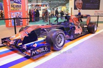 © Octane Photographic Ltd. 2012. Autosport International F1 Cars Old and New. Torro Roso show car. Digital Ref : 0207cb7d1839