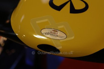 © Octane Photographic Ltd. 2012. Autosport International F1 Cars Old and New. Red Bull show car nose. Digital Ref : 0207lw7d2449