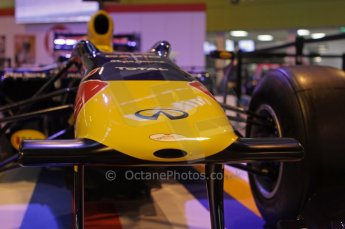 © Octane Photographic Ltd. 2012. Autosport International F1 Cars Old and New. Red Bull show car nose. Digital Ref : 0207lw7d2453