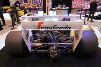 © Octane Photographic Ltd. 2012. Autosport International F1 Cars Old and New. Ayrton Senna Tolman TG184 in the Senna display, Historic F1. Digital Ref : 0207cb7d0208