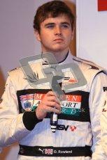 Autosport International 2012 - McLaren Autosport Young Drivers. Oliver Rowland. Digital Ref : 0214cb7d0842
