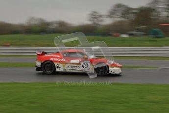 © 2012 Octane Photographic Ltd. Saturday 7th April. Avon Tyres British GT Championship - Practice 1. Digital Ref : 0274lw7d7070