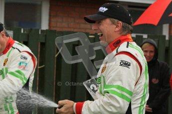 © 2012 Octane Photographic Ltd. Monday 9th April. Avon Tyres British GT Championship - Race Podium. Jon Minshaw & Tim Harvey. Digital Ref : 0288lw7d4448