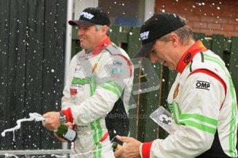 © 2012 Octane Photographic Ltd. Monday 9th April. Avon Tyres British GT Championship - Race Podium. Jon Minshaw & Tim Harvey. Digital Ref : 0288lw7d4453