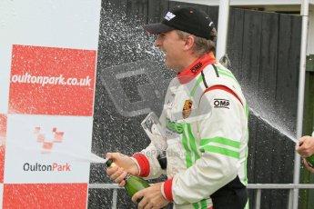 © 2012 Octane Photographic Ltd. Monday 9th April. Avon Tyres British GT Championship - Race Podium. Jon Minshaw & Tim Harvey. Digital Ref : 0288lw7d4460