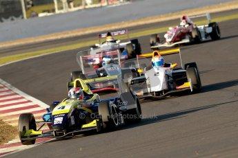 © Chris Enion/Octane Photographic Ltd 2012. Formula Renault BARC - Race. Silverstone - Saturday 6th October 2012. Digital Reference: 0539ce7d9691