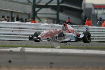 © Octane Photographic Ltd 2012. Formula Renault BARC - Race 2. Silverstone - Sunday 7th October 2012. Kieran Vernon - Hillsport. Digital Reference: 0545lw1d2333