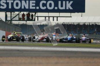 © Octane Photographic Ltd 2012. Formula Renault BARC - Race 2. Silverstone - Sunday 7th October 2012. Kieran Vernon - Hillsport. Digital Reference: 0545lw1d2374
