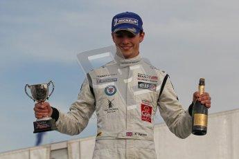 © Octane Photographic Ltd 2012. Formula Renault BARC - Race 2. Silverstone - Sunday 7th October 2012. Kieran Vernon - Hillsport. Digital Reference: 0545lw7d9396