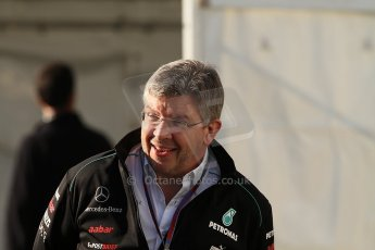 World © Octane Photographic Ltd. Belgian GP Spa - Sunday 2nd September 2012 - F1 Paddock - Ross Brawn - Mercedes AMG Petronas. Digital Ref :