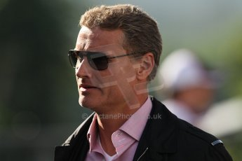 World © Octane Photographic Ltd. Belgian GP Spa - Sunday 2nd September 2012 - F1 Paddock - David Coulthard - BBC F1. Digital Ref :