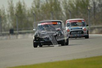 © Octane Photographic Ltd. Mini Se7en Championship practice session 21st April 2012. Donington Park. Paul Spark. Digital Ref : 0298lw1d1227