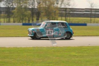 © Octane Photographic Ltd. Mini Se7en Championship practice session 21st April 2012. Donington Park. Kelvin Edgar. Digital Ref : 0298lw7d6067