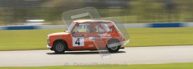 © Octane Photographic Ltd. Mini Se7en Championship practice session 21st April 2012. Donington Park. Gareth Hunt. Digital Ref : 0298lw7d6087
