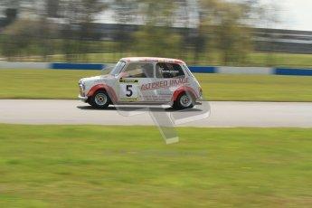 © Octane Photographic Ltd. Mini Miglia practice session 21st April 2012. Donington Park. Paul Thompson. Digital Ref : 0298lw7d6300