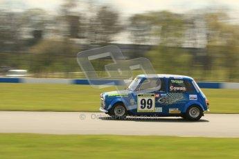 © Octane Photographic Ltd. Mini Miglia practice session 21st April 2012. Donington Park. Mark Cowan, MattRoachRacing.com. Digital Ref : 0298lw7d6307