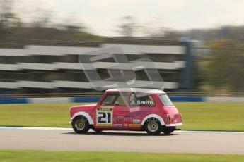 © Octane Photographic Ltd. Mini Miglia practice session 21st April 2012. Donington Park. Aaron Smith, Triple A Racing. Digital Ref : 0298lw7d6340
