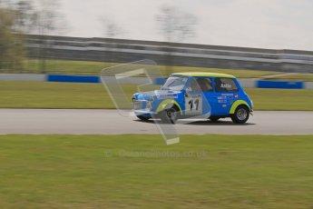 © Octane Photographic Ltd. Mini Miglia practice session 21st April 2012. Donington Park. Kane Astin, St.Andrews Bureau Ltd. Digital Ref : 0298lw7d6386